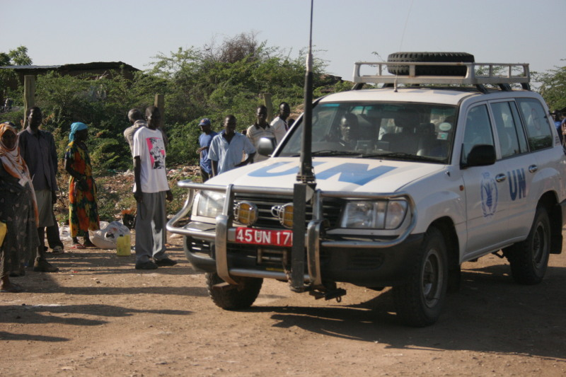 UN Car in Kakuma